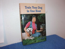 Train Your Dog in One Hour by Sandy Butler (1998 Hardcover)