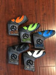 Scotty cameron Cirlce T Industrial Putter Covers Collection Tour Use Only