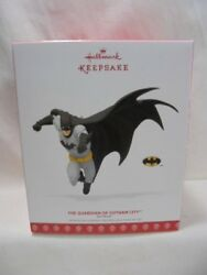2017 Hallmark Keepsake Ornament Batman The Guardian Of Gotham City B4