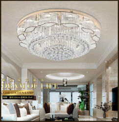 K9 LED Crystal Chandelier Luxury Pendant Lamp Ceiling Light Lighting Fixtures $280.49