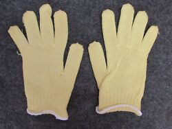 NEW LOT of 12 PAIR NORTH SAFETY MADE W 100% DUPONT KEVLAR GLOVES #52 6705M $9.99
