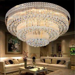 K9 Crystal Ceiling Fixture Light Pendant Lamp Chandelier Lighting 6080cm