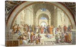ARTCANVAS School of Athens 1510 Canvas Art Print by Raphael $55.99
