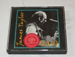 Live by James Taylor (Vocals) CD Jul-1993 2 Discs Columbia Sony Music Millworker