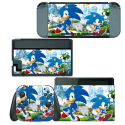 Nintendo Switch Skin Decal Sticker Vinyl Wrap - Sonic The Hedgehog