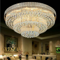 Modern Crystal Chandelier Light Ceiling Lamp Lighting Home Room Decor K9 Clear $164.55