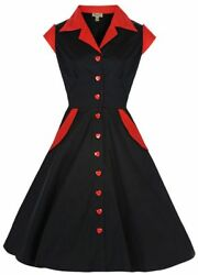 Lindy Bop Jeanette Retro Pinup 1950s Shirt Dress