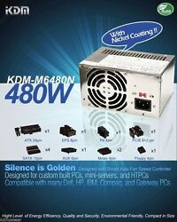 New 480W BESTEC ATX 1956D Power Supply Upgrade Replace FREE PRIORITY 50N $39.89