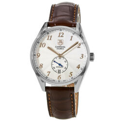 New Tag Heuer Carrera Heritage Automatic Silver Men's Watch WAS2112.FC6181