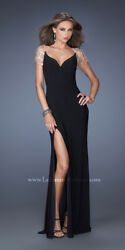 NWT La Femme Gown Prom Party Formal Sexy Dress NWT Size 0 $193.00