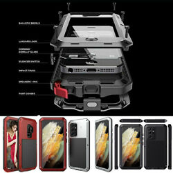 Shockproof Aluminum Heavy Duty Case Cover Samsung S20 Note 10 Plus S10 Note 8 9 $15.97