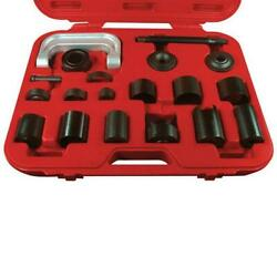 21PC Auto 24 WD Adapter C-Frame Ball Joint Press Removal Puller Service Tools