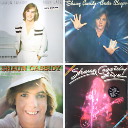 SHAUN CASSIDY Born Late Under Wraps Self Titled Live - NEW SEALED 70s 4 PACK LPs