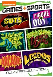 Nickelodeon Games and Sports All Star Collection GUTS More NEW DVD SET $18.95