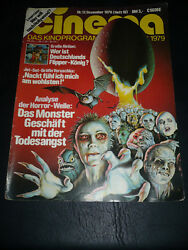 ALIEN a RIP OFF Cinema Magazine front cover December 1979 $5.00