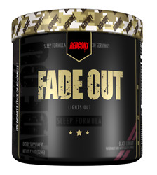 Redcon1 Fade Out Lights Out Sleep Formula Recovery 30 Serv Choose Flavor