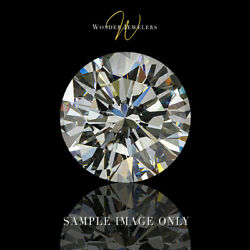 6.04 Carat Round Cut Loose Diamond GIA Certified FFL + Free Ring (2195114575)