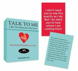 Talk to Me Like I'm Someone You Love: Relationship Repair in a Flash--