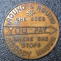 THE WEATHERHEAD CO. SPINNER - Round & Round She Goes…. - Nice