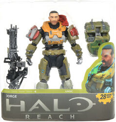 Halo Reach Series 4 JORGE Unhelmeted 5.5 Action Figure McFarlane 2011 $24.95