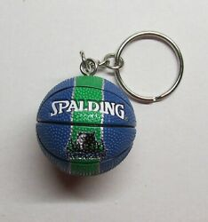 NBA Basketball Memphis GRIZZLIES Spalding Ball KEY CHAIN Ring Keychain NEW $24.99