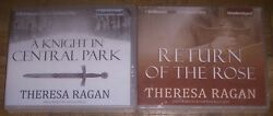 NEW Theresa Ragan Unabridged CD Lot A KNIGHT IN CENTRAL PARK RETURN OF THE ROSE $20.00