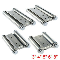1 Pair 34568-inch Saloon Cafe Bar Counter Doors Double Action Spring Hinges