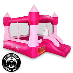 Pink Princess Bounce House Girls Jumper Castle Bouncer Inflatable Only $194.99