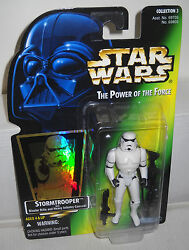 #7688 NRFC Kenner Star Wars Power of the Force Stormtrooper Figure