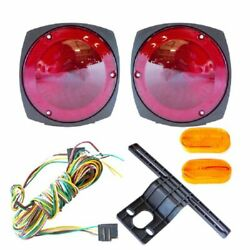 New 12V Trailer Light Kit w Wiring Harness Replacement Brake Marker Towing Tail $17.59