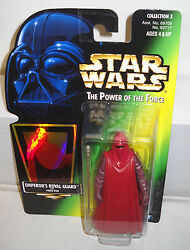 #7229 NRFC Kenner Star Wars Power of the Force Emperor's Royal Guard Figure