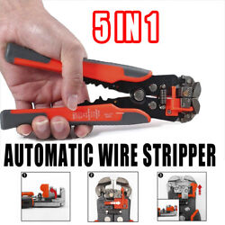 5IN1 Automatic Wire Stripper Crimping Cable Pliers Multifunctional Terminal $12.99