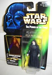#5129 NRFC Kenner Star Wars Power of the Force Emperor Palpatine Figure