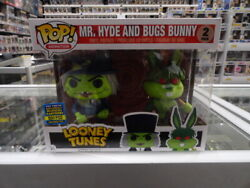 FUNKO POP! VINYL MR.HYDE & BUGS BUNNY - LOONEY TUNES(TOY TOKYO EXCL 850PCS)2PACK