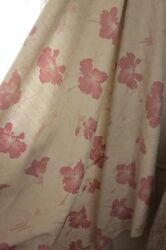 Art Deco Vintage French cotton faded floral cotton ground material c1920 $275.00
