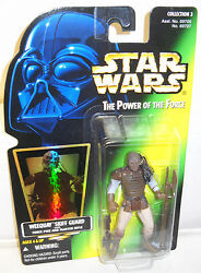 #7690 NRFC Kenner Star Wars Power of the Force Weequay Skiff Guard Figure