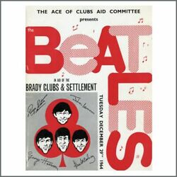 The Beatles For Brady 1964 Hammersmith Odeon Concert Programme (UK)