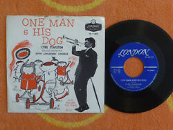 CYRIL STAPLETON One Man & His Dog 45 rpm w PICTURE SLEEVE London 1959