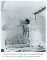 1982 Press Photo Jobeth Williams Up The Wall Bedroom Poltergeist 1980s Horror $20.00