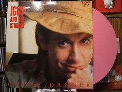 Iggy & The STooges Gimme Danger Pink Vinyl French 12