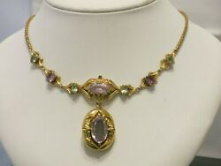 Exquisite Rare Early Victorian Gold  Necklace