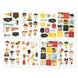 Simple Stories Say Cheese 4 quot;Happy Kidsquot; Stickers 4x6 Sheets $4.95