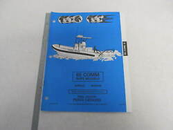 436450 OMC Evinrude Johnson 1994 Outboard 65 HP Commercial Rope Parts Catalog