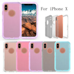 Clear Body Defender 360°Full Hybrid Case Otterbox For iPhone 11 Pro Max 11 Pro X