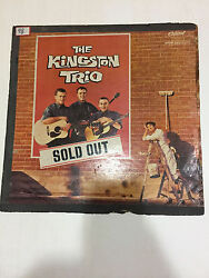 THE KINGSTON TRIO SOLD OUT EL MATADOR RARE LP RECORD vinyl  INDIA INDIAN VG-
