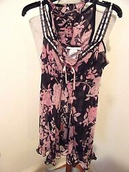WOMENS SZ SMALL CALIFORNIA DYNASTY 2 PIECE  NIGHTWEAR SET BEAUTIFUL CONDITION