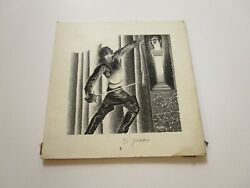 VIRGIL FINLAY DRAWING RARE 1938 SURREAL POP ILLUSTRATION ORIGINAL MAN WITH SWORD