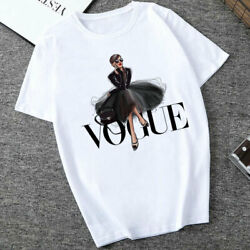 Summer Women's T-Shirt Fashion Letters Harajuku Women's T-Shirt Casual Fashion $5.99