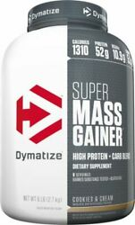 DYMATIZE Super Mass Gainer (6 LB) Protein Carbs FAST SHIPPING BUY 2