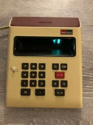 Vintage Sharp ELSI 804 Desk Calculator WORKS GREAT Early 80s Technology